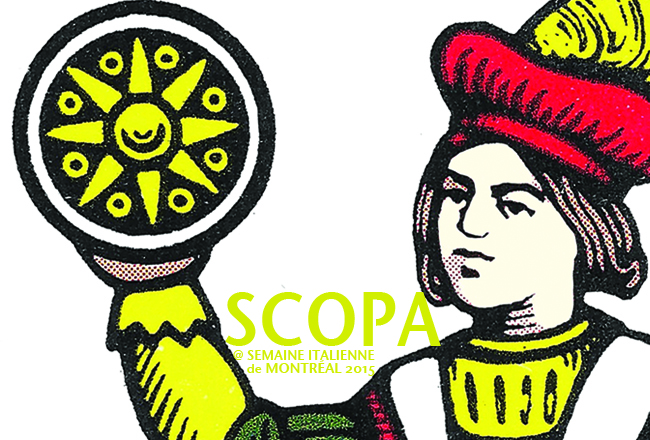 Scopa at Montreal's Italian Week
